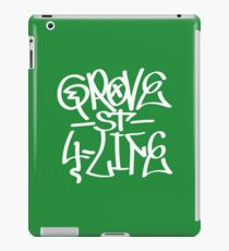 Grove St 4 Life (White) iPad Case/Skin