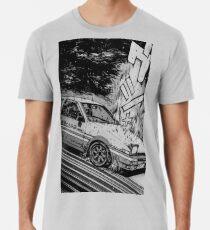 Initial D Toyota AE86 Drifting Men's Premium T-Shirt