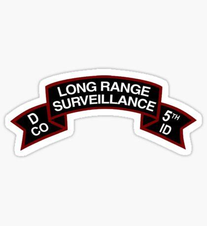 5th ID LRSD Scroll Sticker