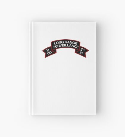 5th ID LRSD Scroll Hardcover Journal