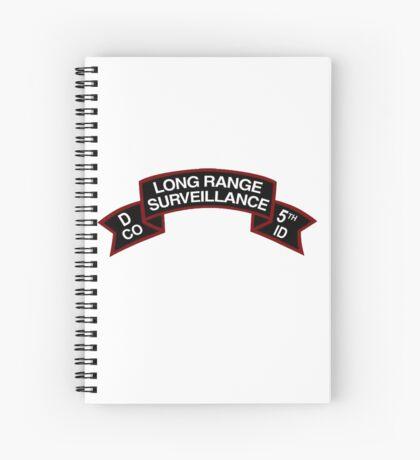 5th ID LRSD Scroll Spiral Notebook