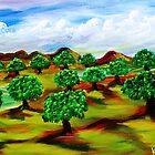 """Oko""""s Orchard by WhiteDove Studio kj gordon"""