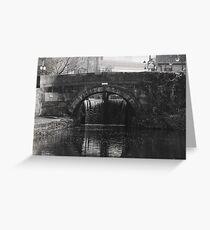 Castle Street Bridge Greeting Card