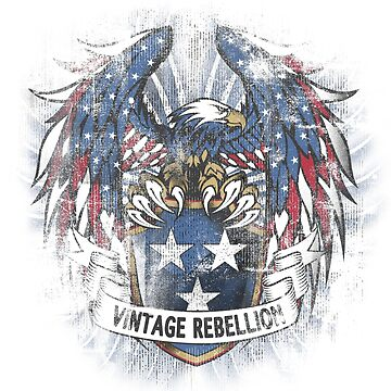 Vintage Rebellion by TshirtsUK