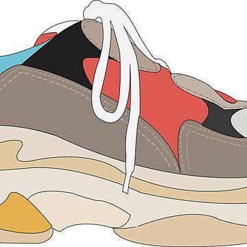 Hypebeast sneakers by brick86
