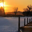 Frozen Docks by Debbie Stobbart