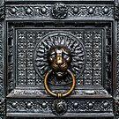 Doorknocker Lion - Black / Gold by BonniePhantasm