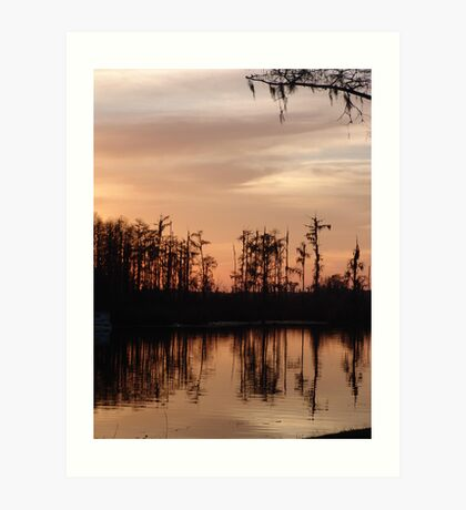 Sunset on Bear Creek Art Print