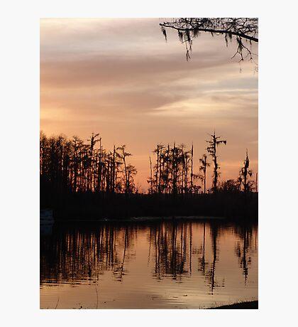 Sunset on Bear Creek Photographic Print