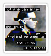 Aesthetic Pearse Quote Sticker