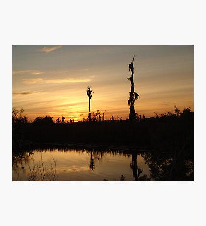 Sunset - Yellow, Gold, Orange Photographic Print