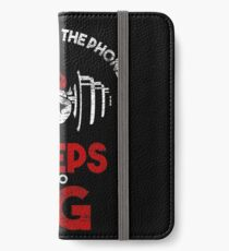 Biceps is too big iPhone Wallet/Case/Skin