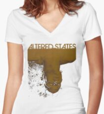Altered states shirt! Women's Fitted V-Neck T-Shirt