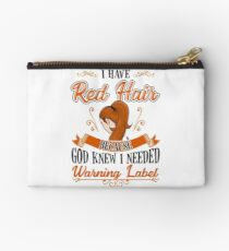 I Have Red Hair Studio Pouch