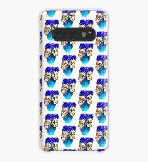 purple hair Case/Skin for Samsung Galaxy