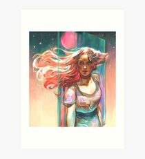 Ode to Pastel Art Print