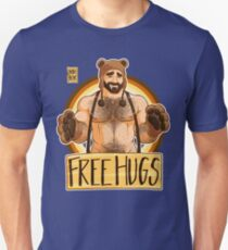 ADAM LIKES HUGS - BEAR PRIDE Unisex T-Shirt