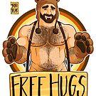 ADAM LIKES HUGS - BEAR PRIDE by bobobear