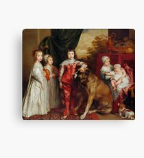 Anthony van Dyck - The Five Eldest Children of Charles I (1631) Canvas Print