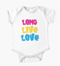 Long Live Love, Poppy Punk - T-Shirt One Piece - Short Sleeve