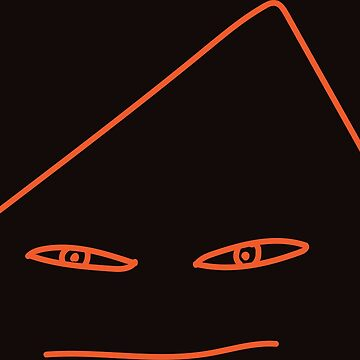 Angry Orange Face by -aem-