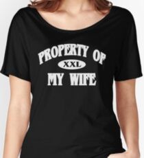 Property of my wife Funny Geek Nerd Women's Relaxed Fit T-Shirt