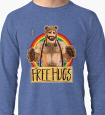 ADAM LIKES HUGS - GAY PRIDE Lightweight Sweatshirt