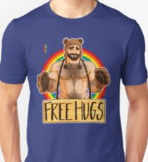 ADAM LIKES HUGS - GAY PRIDE Unisex T-Shirt