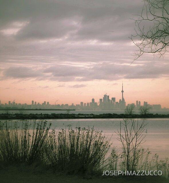 Toronto at Dawn by JOSEPHMAZZUCCO