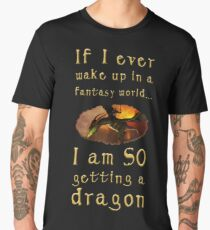 Fantasy Dragon Men's Premium T-Shirt
