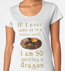 Fantasy Dragon Women's Premium T-Shirt