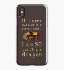 Fantasy Dragon iPhone Case/Skin