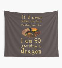 Fantasy Dragon Wall Tapestry