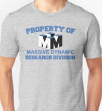 Property of Massive Dynamic Unisex T-Shirt