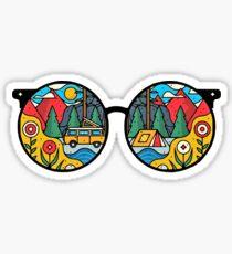 Hippie Sunglasses [MS02] Sticker