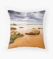 Dawn light from the east Throw Pillow