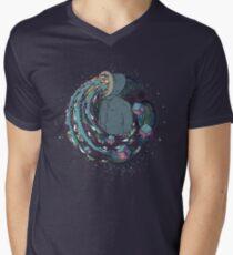 Mind Eruption Men's V-Neck T-Shirt