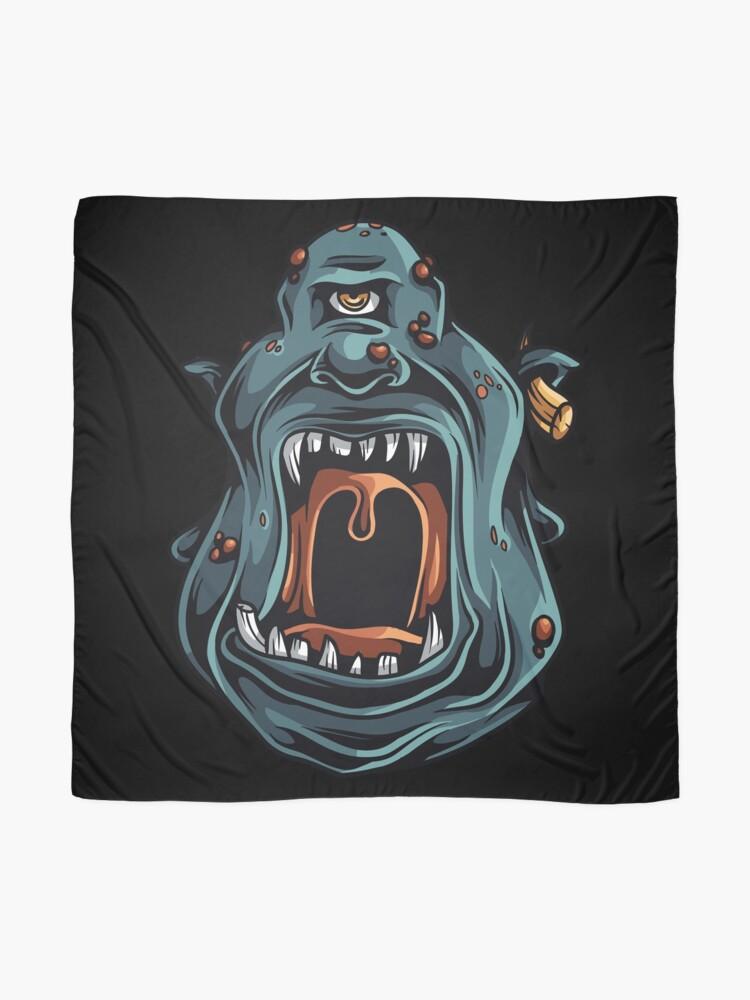 Vista alternativa de Pañuelo Monster