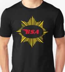 Vintage BSA Motorcycle Gold Star Logo Unisex T-Shirt