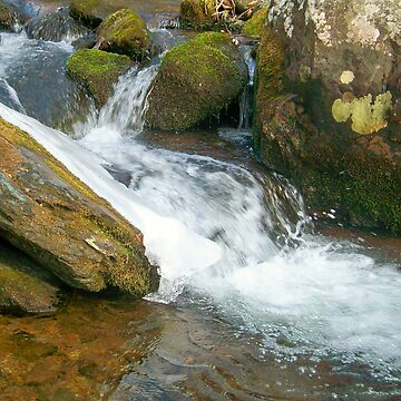 Icy Falls by wesleyrose