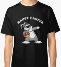 Dabbing Easter Bunny Cool Cute Happy Easter Classic T-Shirt