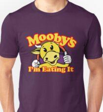 Moobys: Ich esse es! Slim Fit T-Shirt