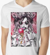 Gothic Candyland Men's V-Neck T-Shirt