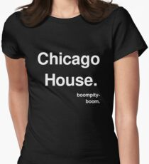Chicago House - Boompity-boom Women's Fitted T-Shirt