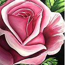 Pink Rose by Adam Santana