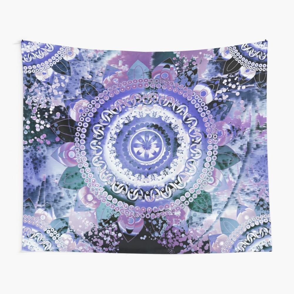 Hyacinth Mandala Wall Tapestry