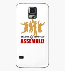 Channel 4 News Team Assemble Case/Skin for Samsung Galaxy
