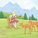 Musical Girl by Amanda Francey