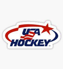 USA hockey logo Sticker