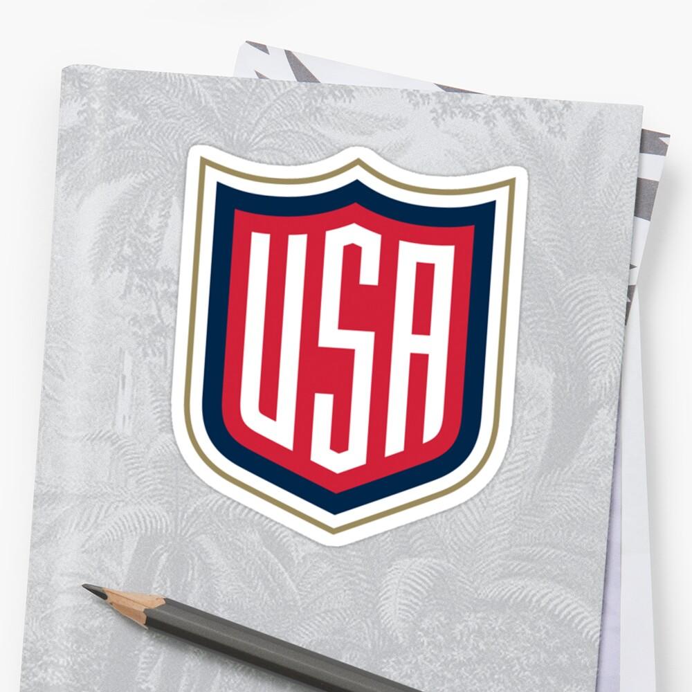 team usa logo  Sticker